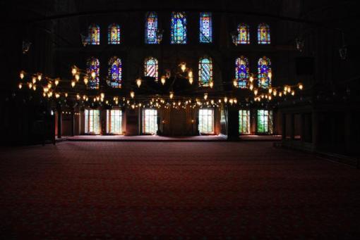 Турция, Стамбул, Голубая мечеть